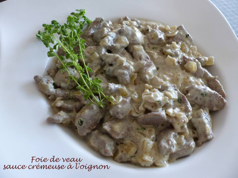 Foie de veau sauce crémeuse à l'oignon P1190035 R