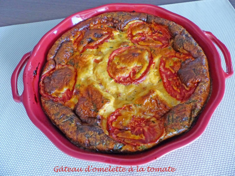 Gâteau d'omelette à la tomate P1180987 R