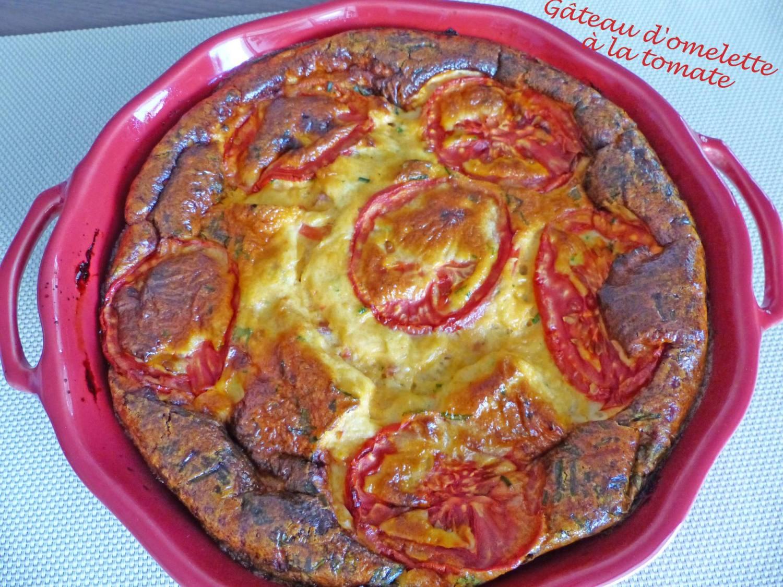 Gâteau d'omelette à la tomate P1180988 R
