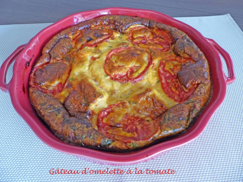 Gâteau d'omelette à la tomate P1180989 R