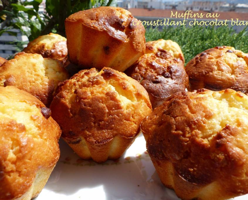 Muffins au croustillant chocolat blanc P1190030 R