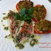 Rougets marinés et tomates au four P1180890 R