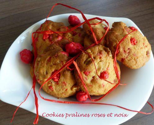 Cookies pralines roses et noix P1130216 R