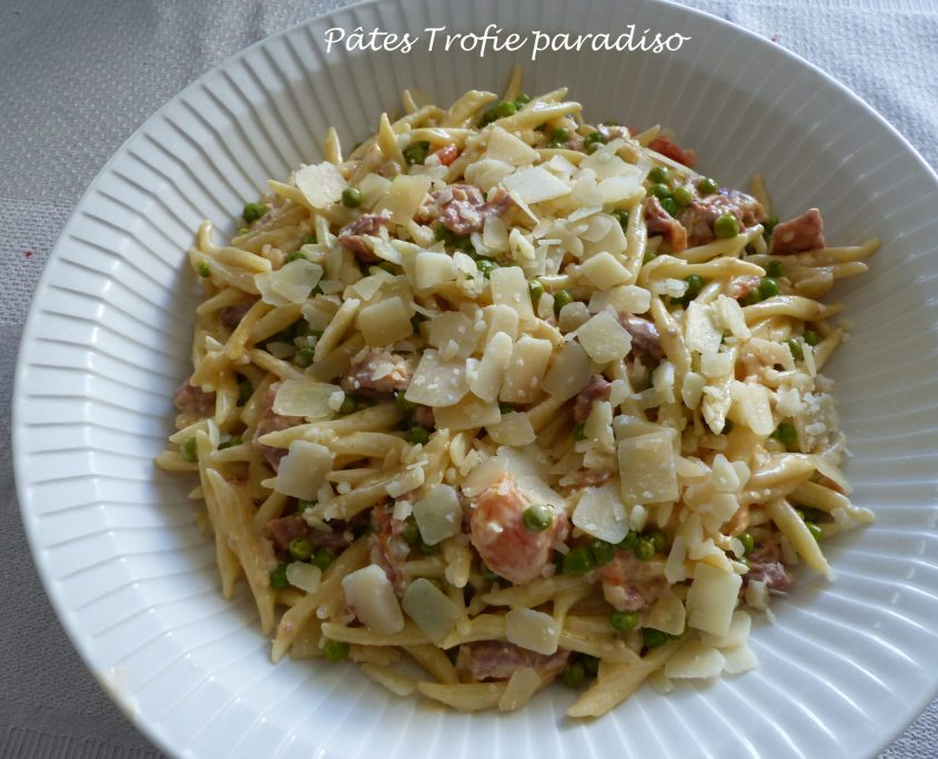 Pâtes Trofie paradiso P1120862 R