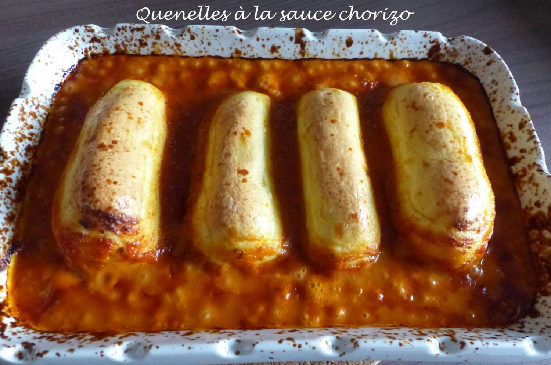 Quenelles à la sauce chorizo P1190880 R