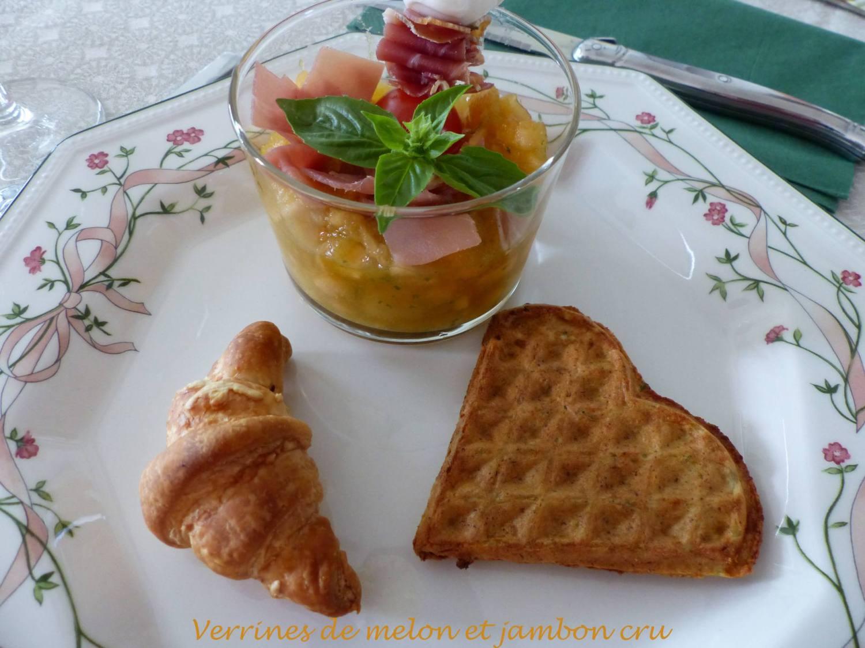 Verrines de melon et jambon cru P1200187 R