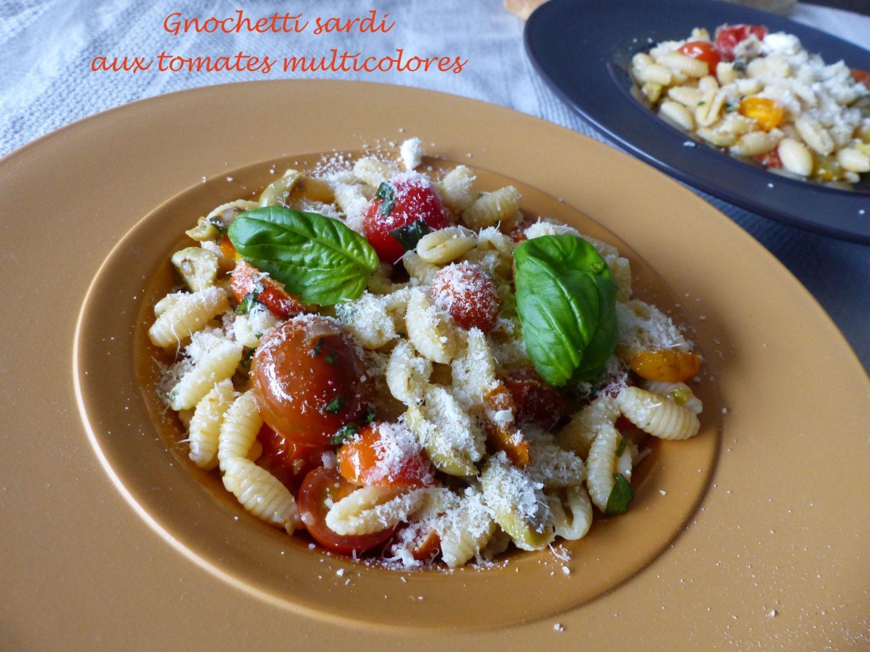 Gnochetti sardi aux tomates multicolores P1140053 R