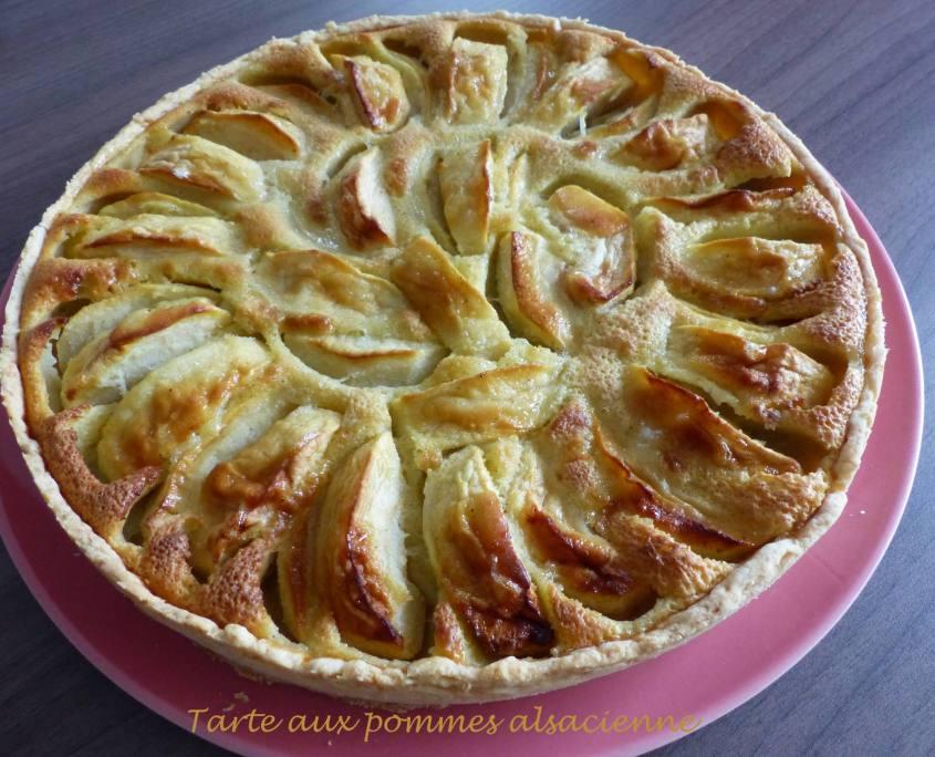 Tarte aux pommes alsacienne P1200669 R
