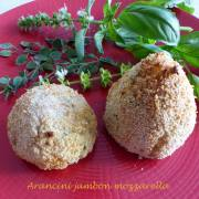 Arancini jambon mozzarella P1190835 R