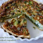 Quiche brocolis-épinards et roquefort P1140748 R