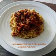 Coquillettes en bolognaise végétarienne P1220149 R
