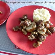 Filet mignon aux châtaignes et champignons P1220105 R