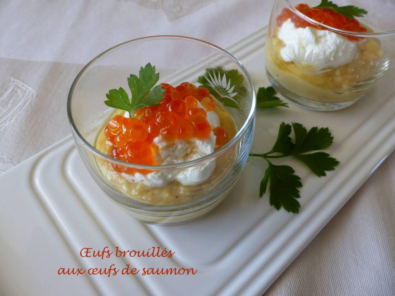 Œufs brouillés aux œufs de saumon P1150300 R