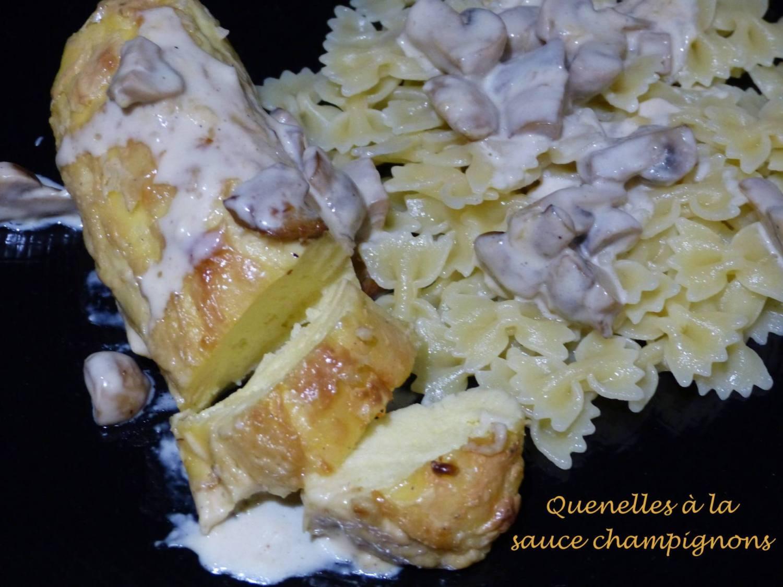 Quenelles à la sauce champignons P1160128 R