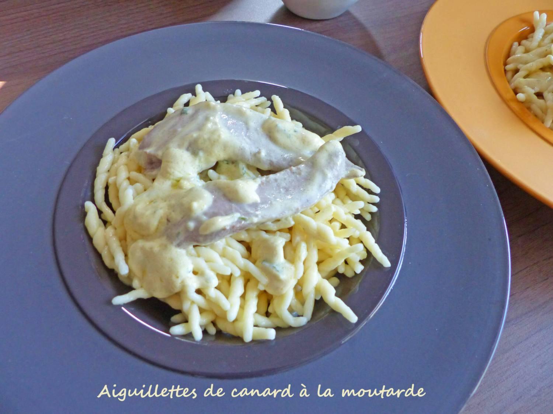 Aiguillettes de canard à la moutarde P1230101 R