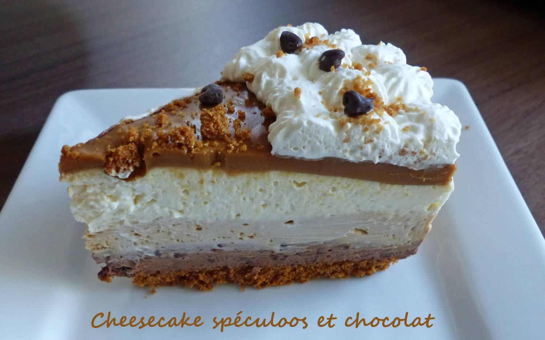 Cheesecake spéculoos et chocolat P1230114 R