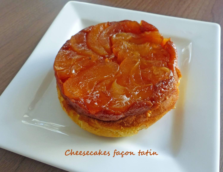Cheesecakes façon tatin P1230429 R