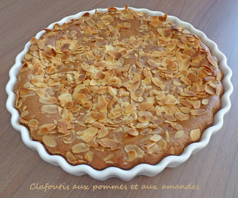Clafoutis aux pommes et aux amandes P1230593 R