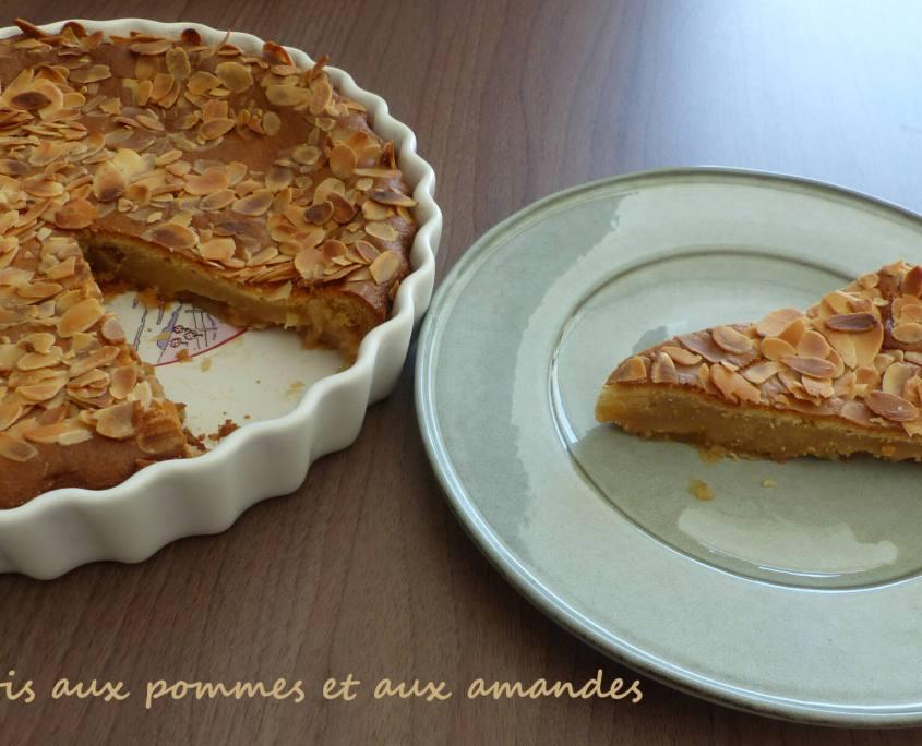 Clafoutis aux pommes et aux amandes P1230599 R