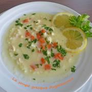 La soupe grecque Avgolemono P1230979 R