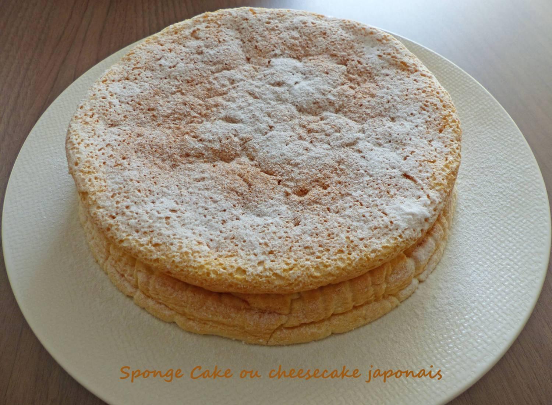 Sponge Cake ou cheesecake japonais P1230888 R