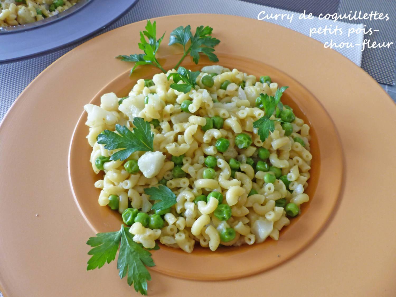 Curry de coquillettes petits pois-chou-fleur P1240654 R