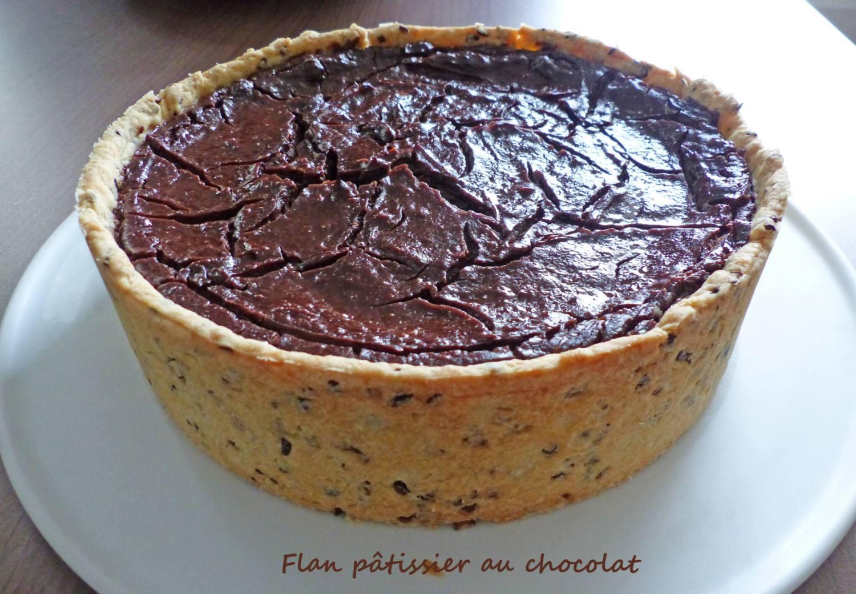 Flan pâtissier au chocolat P1240280 R