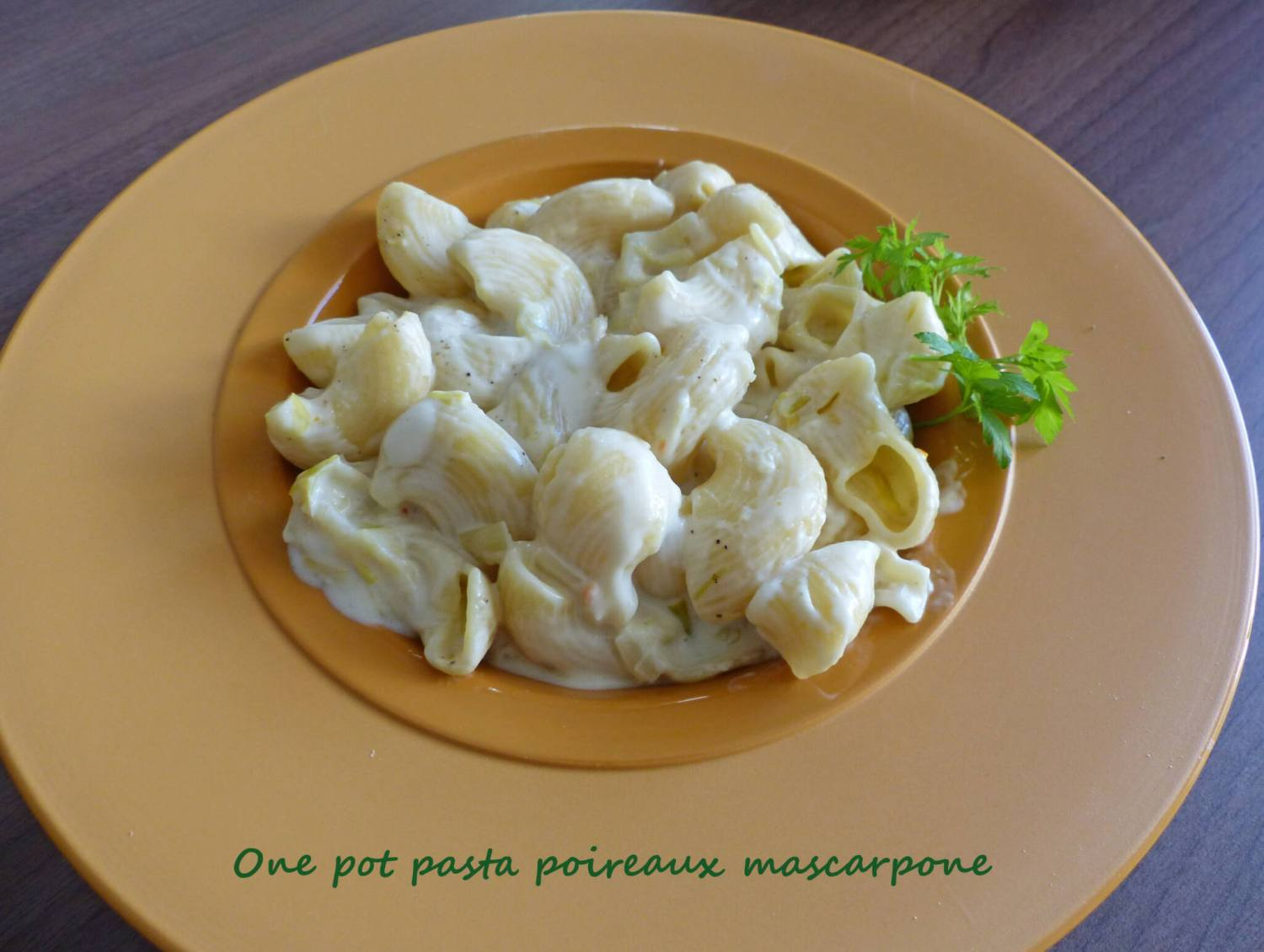 One pot pasta poireaux mascarpone P1240329 R
