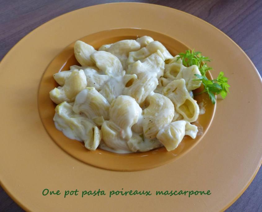 One pot pasta poireaux mascarpone P1240329 R