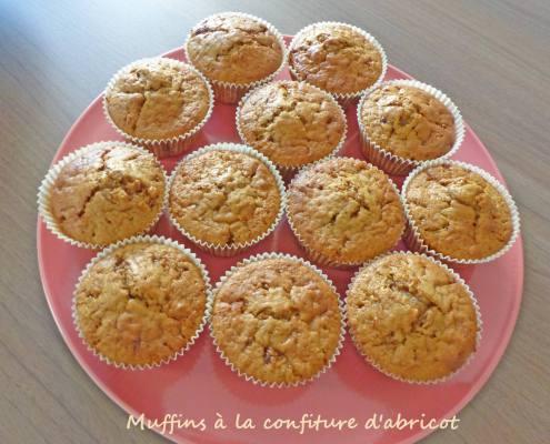 Muffins à la confiture d'abricot P1250185 R