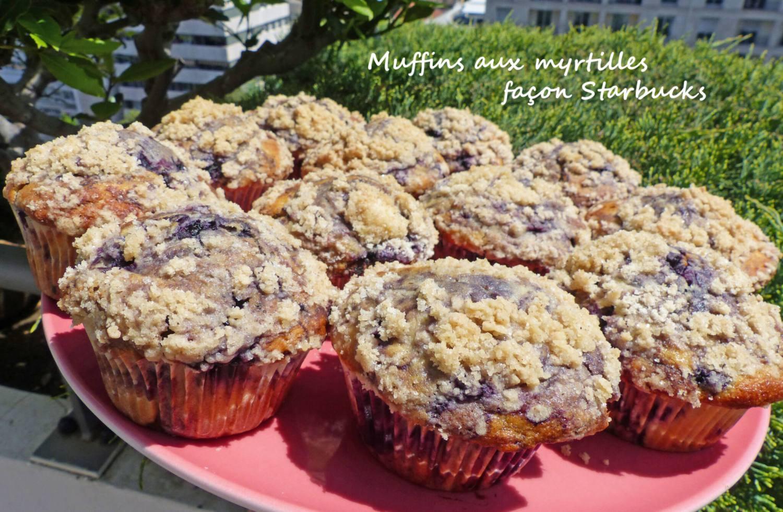 Muffins aux myrtilles façon Starbucks P1240802 R
