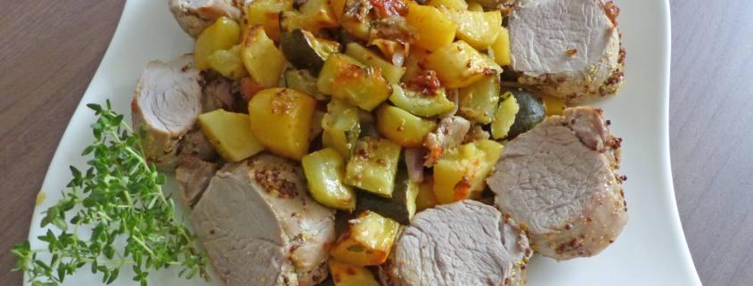 Filet mignon et légumes rôtis P1250609 R