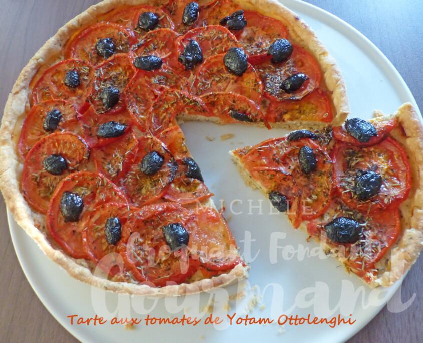 Tarte aux tomates de Yotam Ottolenghi P1260594 R