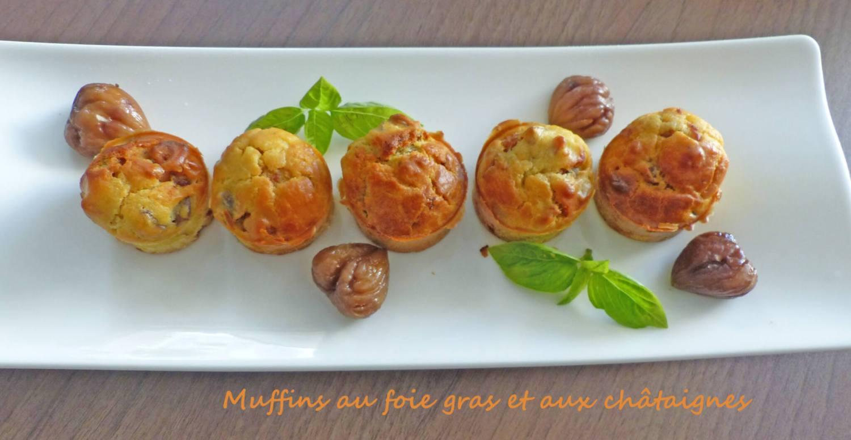 Muffins au foie gras et aux châtaignes P1270146 R