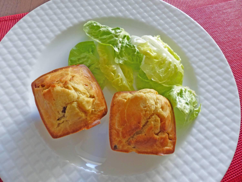 Muffins au foie gras et aux châtaignes P1270151