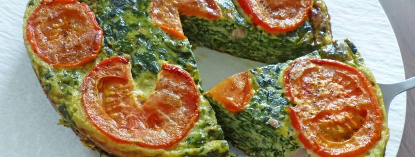 Omelette aux épinards au four P1260672 R