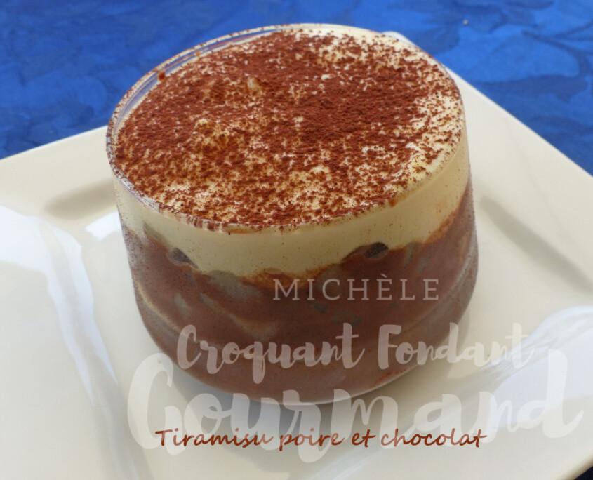 Tiramisu poire et chocolat P1260819 R