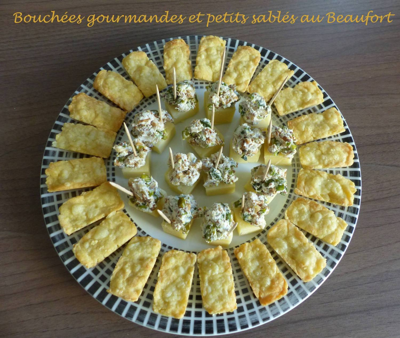 Bouchées gourmandes au Beaufort et Petits sablés au Beaufort P1210224 R