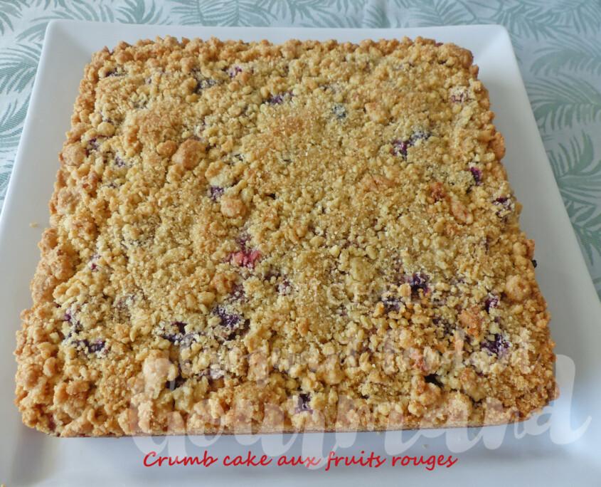Crumb cake aux fruits rouges P1270839 R