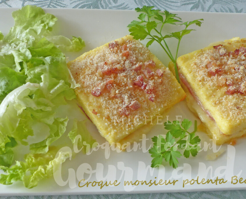 Croque monsieur polenta Beaufort P1270615 R