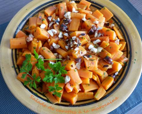 Salade de carottes à la marocaine P1280130 R