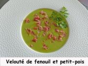 Velouté de fenouil et petit-pois Index P1280135