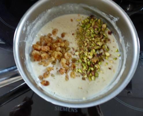 Riz au lait aux poires caramélisées P1280466