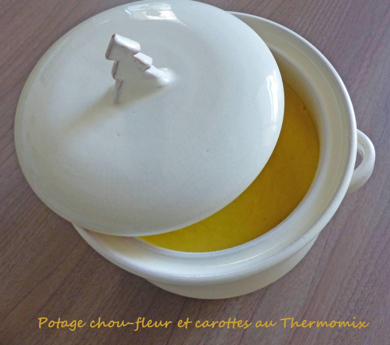 Potage chou-fleur et carottes au Thermomix P1230462 R