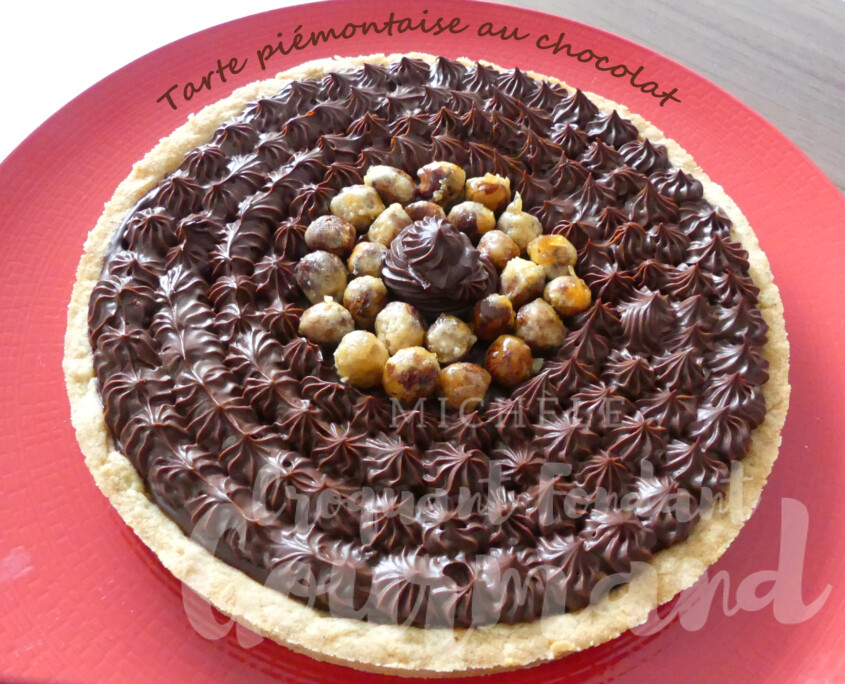 Tarte piémontaise au chocolat P1000098 R