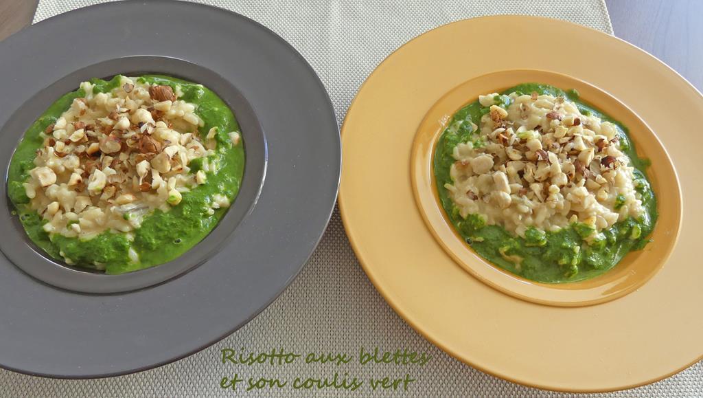 Risotto aux blettes et son coulis vert P1000744 R (Copy)