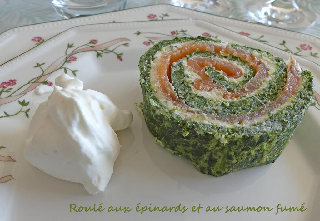 Roulé aux épinards et au saumon fumé P1000929 R (Copy)