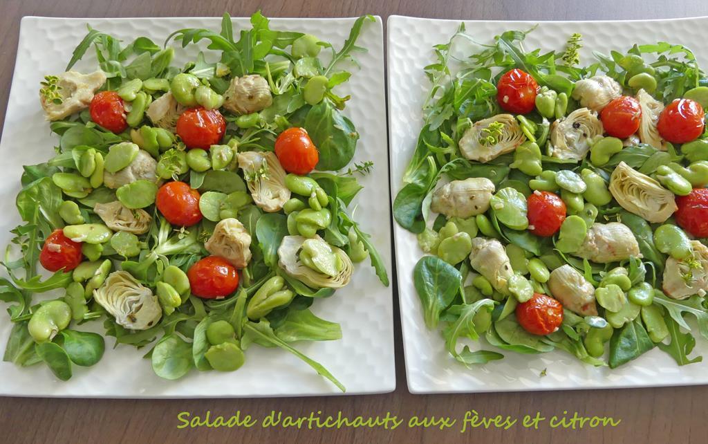 Salade d'artichauts aux fèves et citron P1010316 R (Copy)