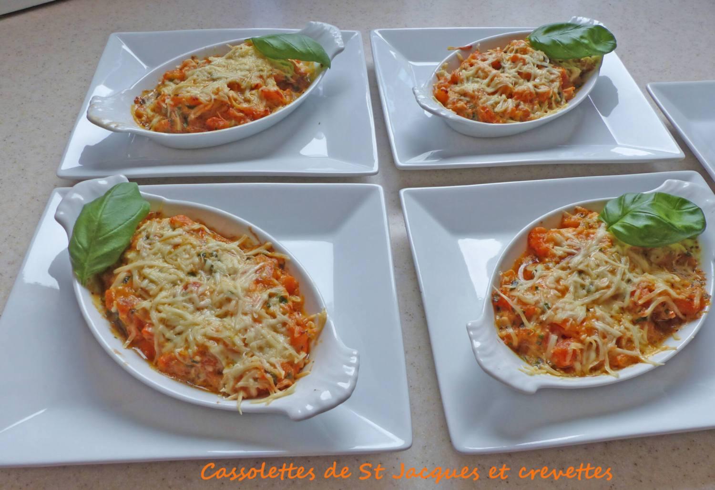 Cassolettes de St Jacques et crevettes P1250147 R