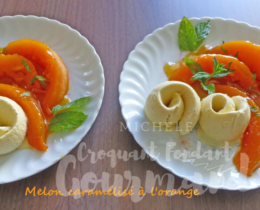 Melon caramélisé à l'orange P1250577 R